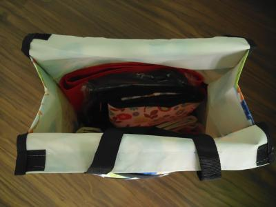 collapsible shopping bag trolley